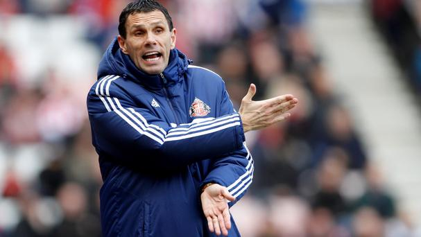 Gus Poyet has dismissed online rumours that he could resign from his role