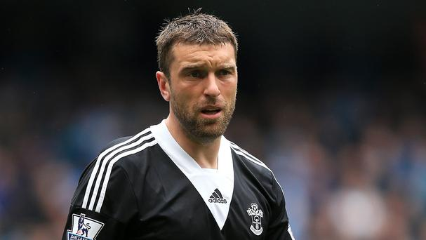 Rickie Lambert, pictured, knows he is in a race to the World Cup with England rival Andy Carroll