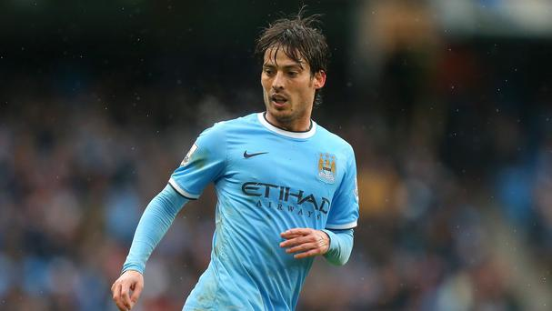 David Silva, pictured, and Jesus Navas both missed Manchester City's 2-2 draw with Sunderland