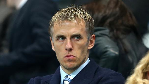 Phil Neville has not enjoyed Manchester United's results so far