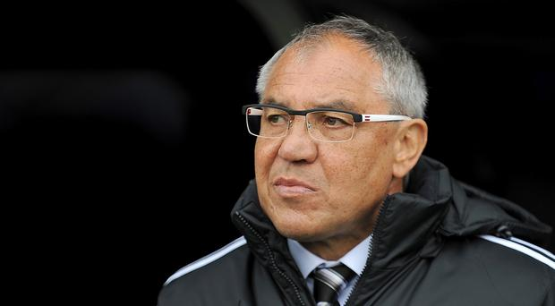 Felix Magath is hoping to lead Fulham to safety
