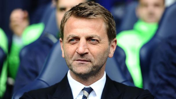 Tim Sherwood, pictured, has no problem with Sandro