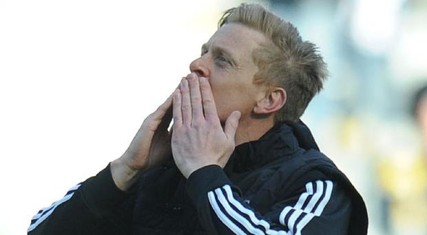 Garry Monk wants Swansea to finish the season strongly