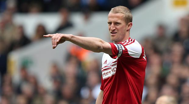 Brede Hangeland is not giving up on survival