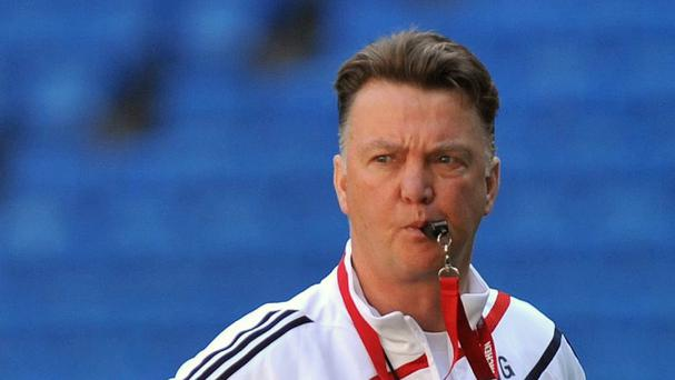 Louis van Gaal is the early favourite to be new Manchester United boss
