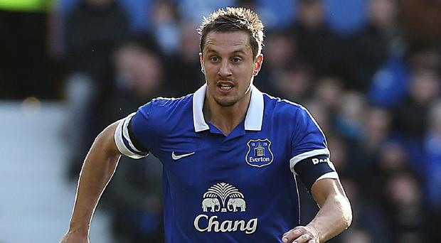 Everton captain Phil Jagielka will not be rushed back from injury