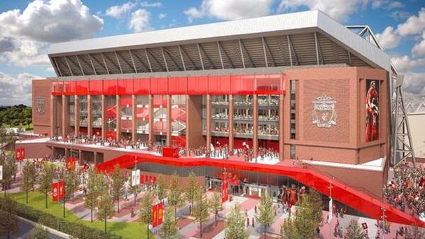 Liverpool have unveiled their plans for the redevelopment of Anfield