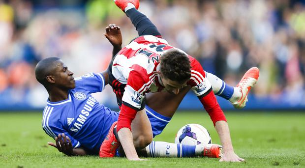 Chelsea midfielder Ramires, left, has accepted a four-game ban by the Football Association