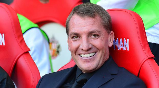 Liverpool boss Brendan Rodgers is loving life at the top of the league