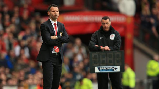 Ryan Giggs was delighted with the Manchester United fans' reaction to him
