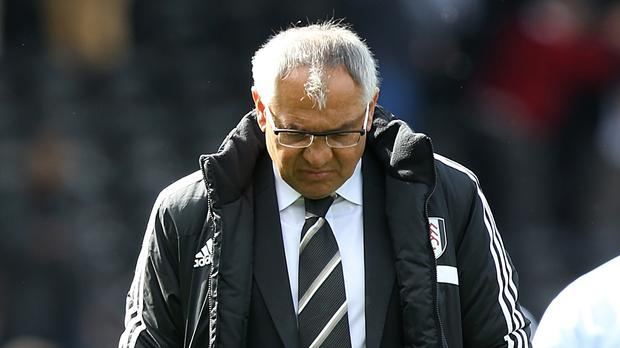 Felix Magath's side have two games left to secure their Premier League status