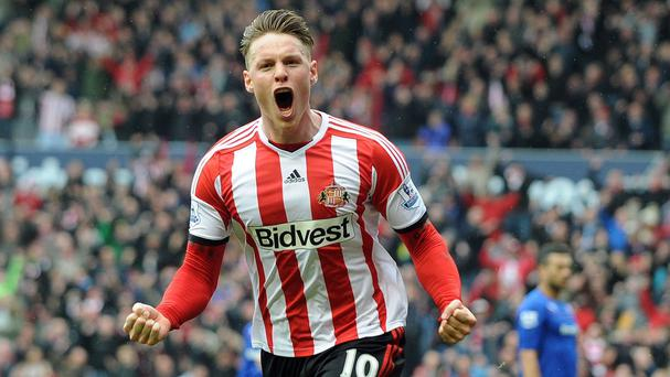 Connor Wickham scored twice in Sunderland's win