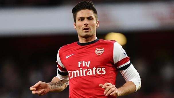 Olivier Giroud expects Everton to push Arsenal all the way in the race for fourth