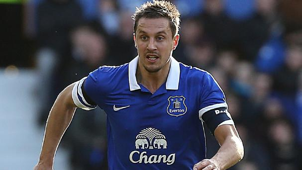 Phil Jagielka has missed Everton's last 11 games because of a hamstring injury