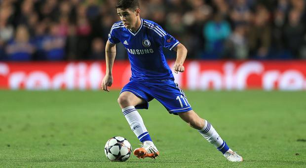 Oscar has missed Chelsea's last three games