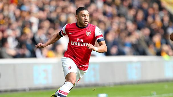 Arsene Wenger is unsure when Alex Oxlade-Chamberlain, pictured, will return