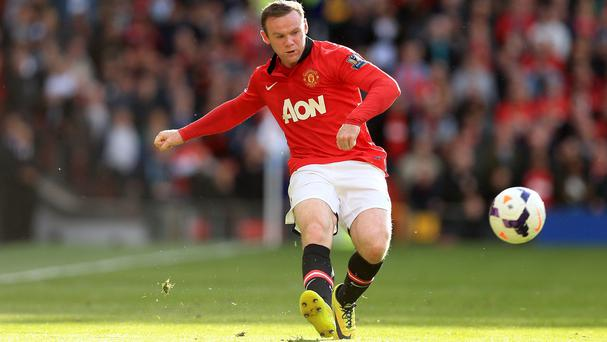 Wayne Rooney's injury is not serious
