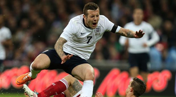 Arsenal midfielder Jack Wilshere is recovering from a foot injury suffered while playing for England