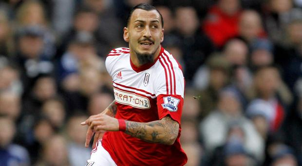 Kostas Mitroglou could have a role to play in Fulham's survival bid