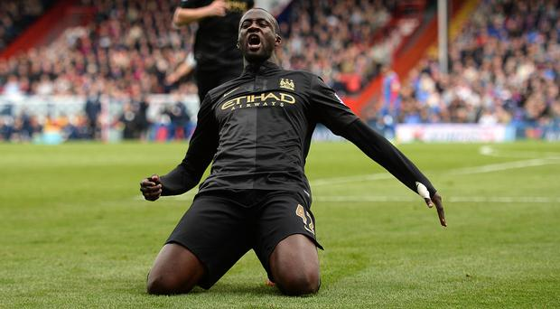 Yaya Toure has been influential for Manchester City this season