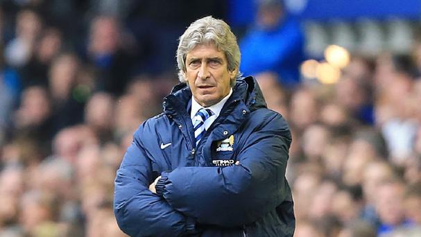 Manuel Pellegrini is confident his side can handle any title nerves