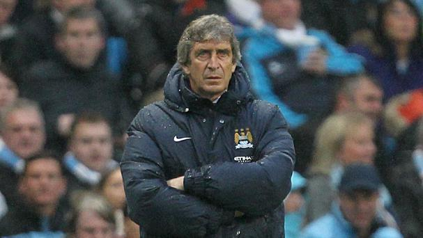 Manuel Pellegrini expects Manchester City to win the title on Sunday