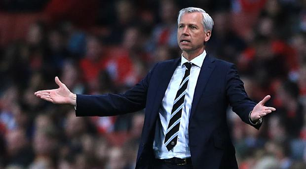 It has been a tough second half of the season for Alan Pardew
