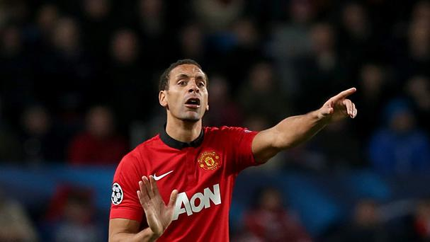 Rio Ferdinand is out of contract at Manchester United at the end of the season