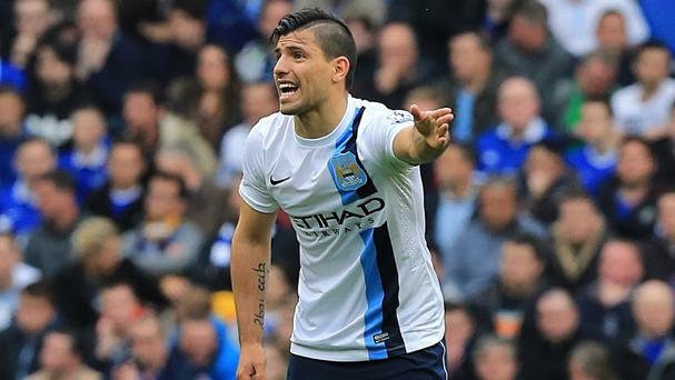 Sergio Aguero is fit to play in Manchester City's final game of the campaign