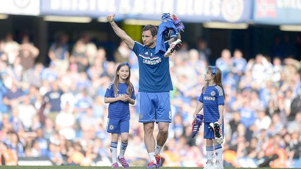 Frank Lampard may have played his final game for Chelsea