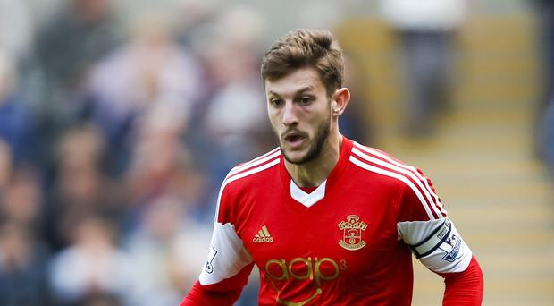 Southampton captain Adam Lallana