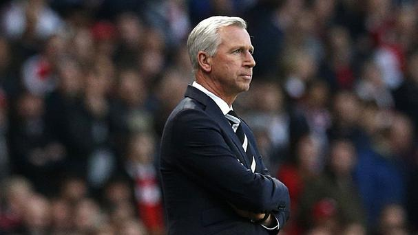Alan Pardew endured a difficult second half of the season