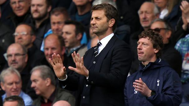 Tim Sherwood feels a sixth-place Barclays Premier League finish is about right for Tottenham