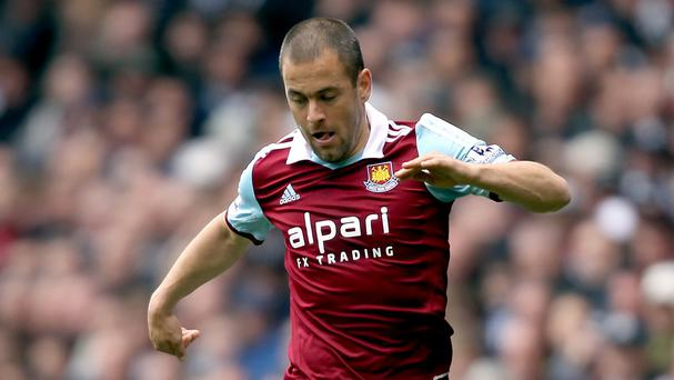 Joe Cole is looking for a new club after leaving West Ham