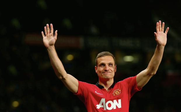 Nemanja Vidic has left Manchester United