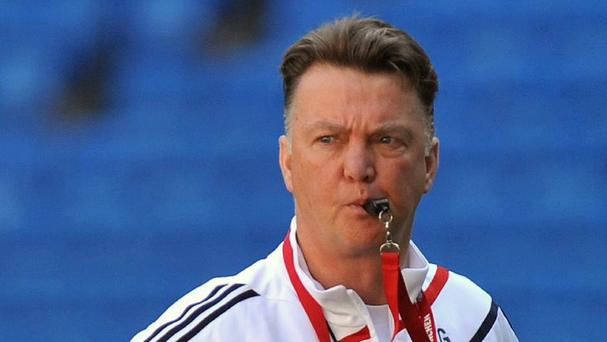 Louis van Gaal takes charge of Holland this weekend