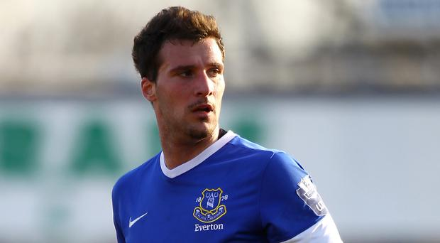 Apostolos Vellios has left Everton