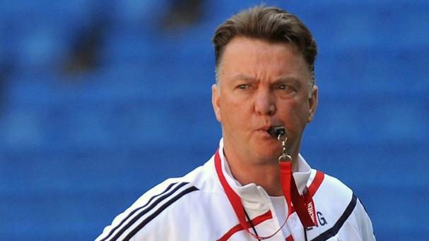 Louis van Gaal is expected to take the Manchester United reins soon