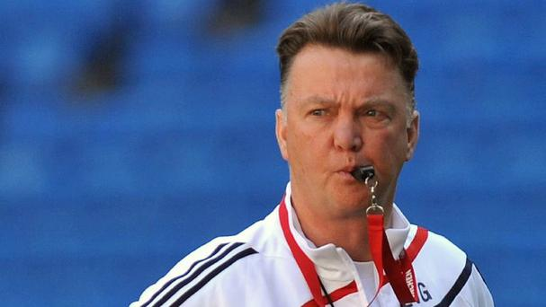 Louis van Gaal will take over at Old Trafford after this summer's World Cup