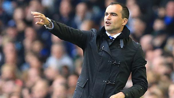 Roberto Martinez led Everton to a fifth-place finish in his first season in charge