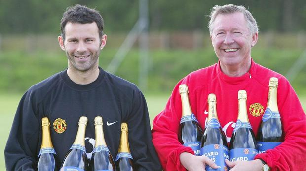 Alex Ferguson, pictured right, hailed the