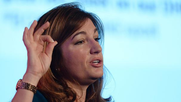 Karren Brady, pictured, has spoken out in support of Richard Scudamore