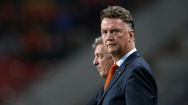 Louis van Gaal will take the Manchester United reins after his World Cup commitments with Holland