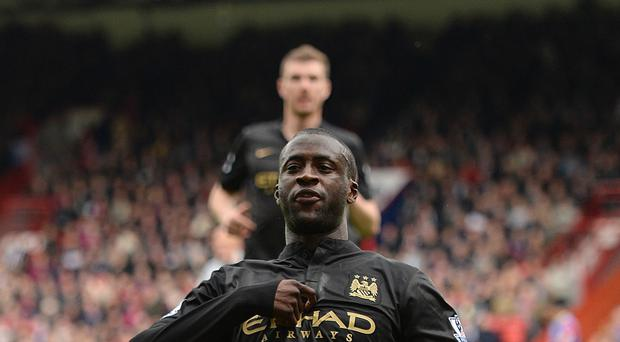 Yaya Toure has reiterated his commitment to Manchester City after some unusual claims from his agent
