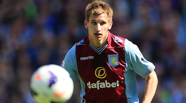 Marc Albrighton, pictured, has been released by Aston Villa, along with Nathan Delfouneso
