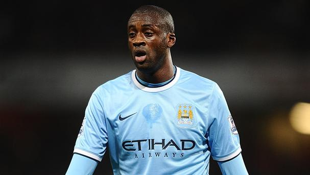 Yaya Toure has apparently expressed his unhappiness at Manchester City