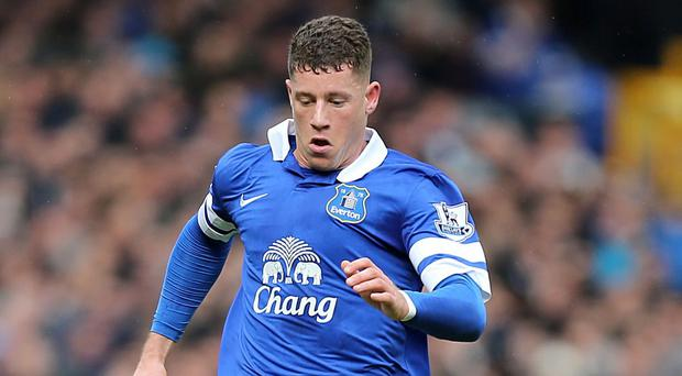 Everton boss Roberto Martinez wants Ross Barkley, pictured, to stay at the club for