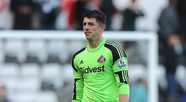 Sunderland goalkeeper Keiren Westwood is deemed surplus to requirements at the Stadium of Light