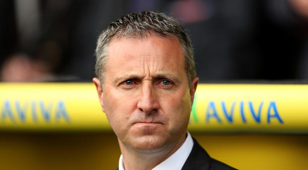 The Norwich board have faith new manager Neil Adams can secure promotion back to the Barclays Premier League.