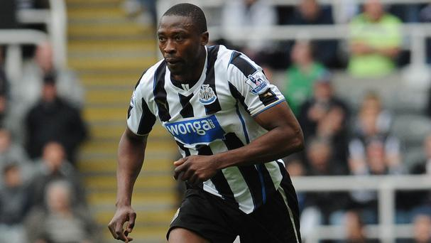 Newcastle United have not offered Shola Ameobi a new contract